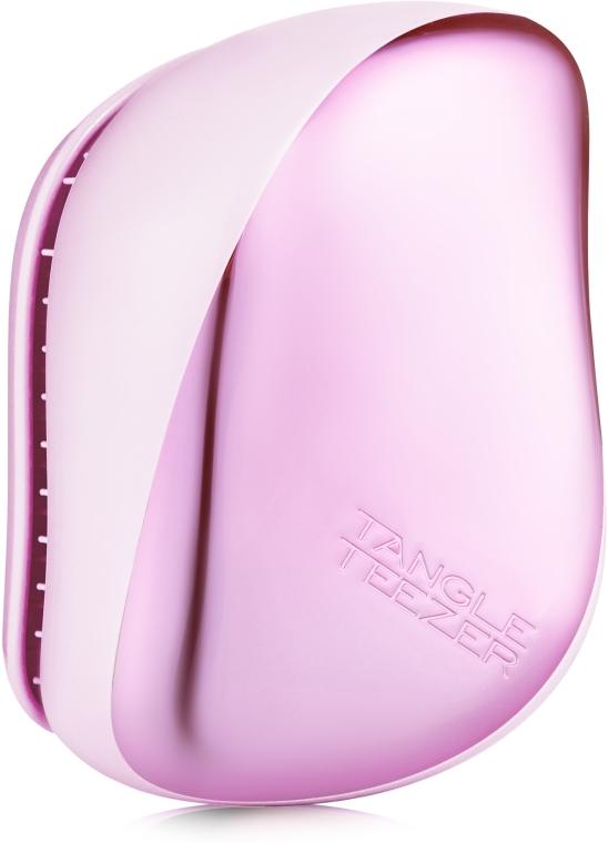 Компактная щетка для волос - Tangle Teezer Compact Styler Baby Doll Pink Chrome