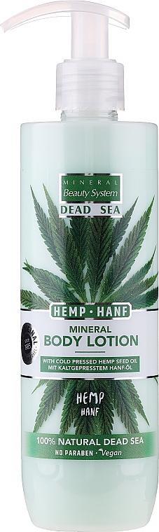 Конопляный лосьон для тела с минералами Мёртвого моря - Mineral Beauty System Dead Sea Minerals & Cold Pressed Hemp Oil Body Lotion — фото N1