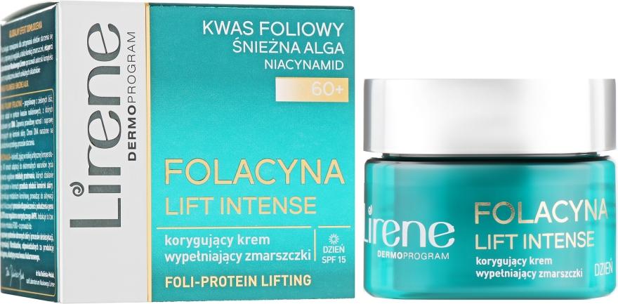 Корректирующий дневной крем для лица - Lirene Folacyna Lift Intense 60+ Day Cream