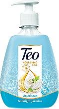 Духи, Парфюмерия, косметика Жидкое глицериновое мыло с увлажняющим действием - Teo Nourishing Oils Midnight Jasmine Liquid Soap