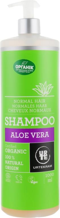 "Шампунь ""Алоэ вера"" для нормальных волос - Urtekram Aloe Vera Shampoo Normal Hair"