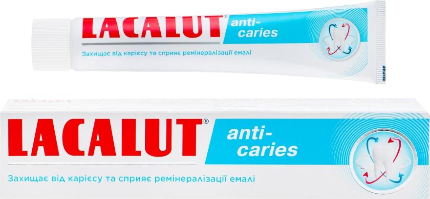 Зубная паста от кариеса - Lacalut Anti-caries