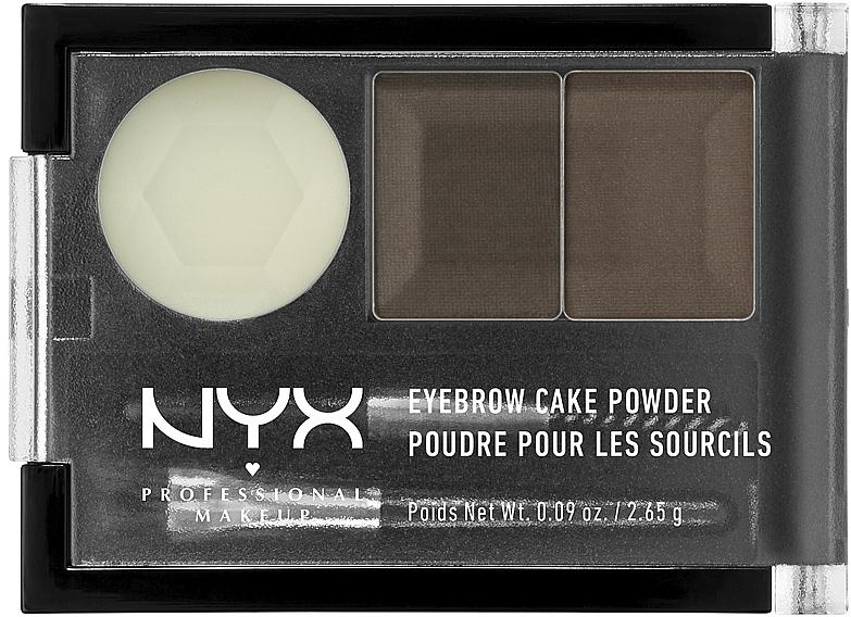 Тени для бровей - NYX Professional Makeup Eyebrow Cake Powder