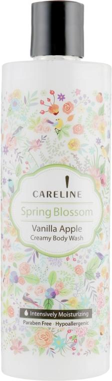 Крем-гель для душа с ароматом яблока и ванили - Careline Spring Blossom Vanilla Apple Creamy Body Wash