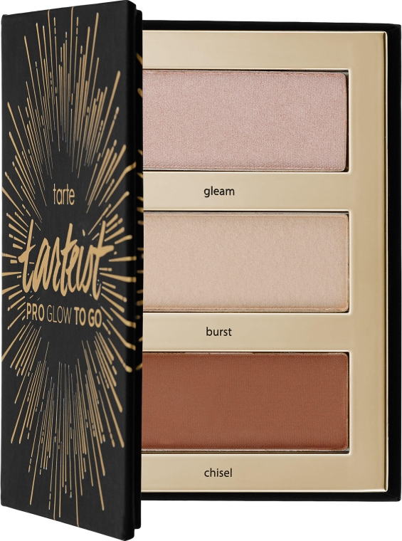 Палетка для контурирования - Tarte Cosmetics Tarteist Pro Glow To Go Highlight & Contour Palette