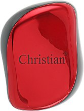 Духи, Парфюмерия, косметика Расческа для волос с технологией Тангл Тизер, CR-4224, красная - Christian