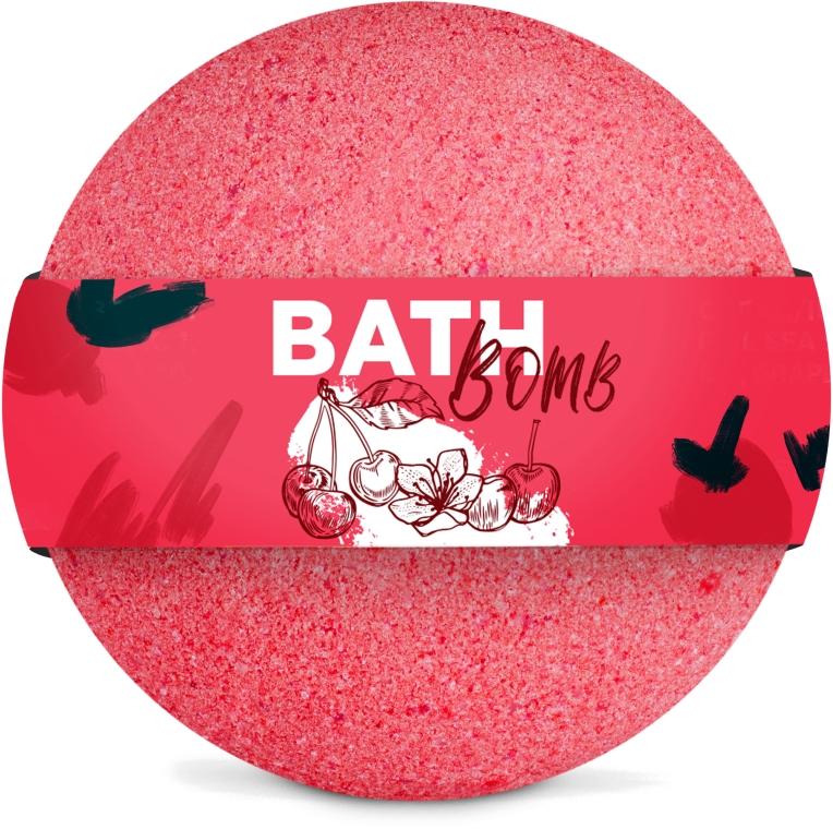"Бомбочка для ванны ""Cherry"" - SHAKYLAB Bath Bomb"
