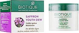 Духи, Парфюмерия, косметика Омолаживающий крем - Biotique Advanced Ayurveda Saffron Youth Dew