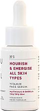Духи, Парфюмерия, косметика Питательная сыворотка для всех типов кожи - You & Oil Vitamin Nourish & Energise Serum