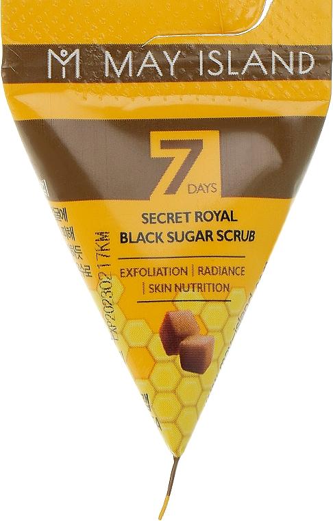 Сахарный скраб для лица - May Island 7 Days Secret Royal Black Sugar Scrub