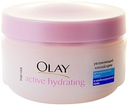Духи, Парфюмерия, косметика УЦЕНКА Увлажняющий ночной крем - Olay Active Hydrating*