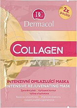 Духи, Парфюмерия, косметика Маска для лица - Dermacol Collagen+ Intensive Rejuvenating Mask