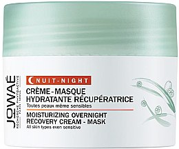 Духи, Парфюмерия, косметика Крем-маска для лица - Jowae Moisturizing Overnight Recovery Cream-Mask