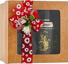 Духи, Парфюмерия, косметика Набор для тела с пылинками золота - Natural Blossom&Gold (b/mist/100ml+b/lot/100ml+b/powder/15g)