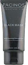 Чорна маска для обличчя - Pacinos Black Mask — фото N1