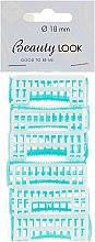 Духи, Парфюмерия, косметика Бигуди, 230108, 18мм, голубые - Beauty Look