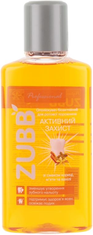 "Ополаскиватель для полости рта ""Корица, мята и ваниль"" - ZUBB — фото N2"
