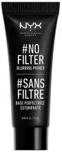 Духи, Парфюмерия, косметика Праймер для лица - NYX Professional Makeup No Filter Blurring Primer
