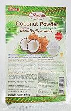 Духи, Парфюмерия, косметика Увлажняющая натуральная порошковая маска-скраб с кокосом - Isme Rasyan