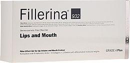 Духи, Парфюмерия, косметика Гель для увеличения объема губ и улучшения контура, уровень 4 - Fillerina Lips And Mouth Grade 4 Plus