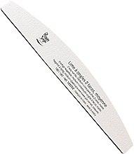Духи, Парфюмерия, косметика Пилка для ногтей двухсторонняя 180/180, белая - Peggy Sage 2-way Washable Half-Moon Medium Nail File