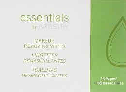 Духи, Парфюмерия, косметика Салфетки для снятия макияжа - Amway Essentials By Artistry Wipes
