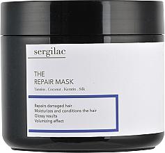 Духи, Парфюмерия, косметика Восстанавливающая маска для волос - Sergilac The Repair Mask