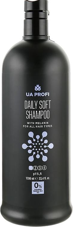 """Шампунь """"Ежедневный мягкий"""" с меланином, pH 4 - UA Profi Daily Soft Shampoo"""