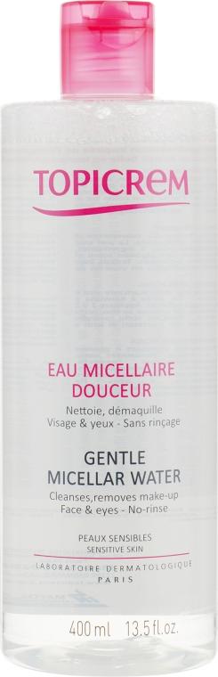 Мицеллярная вода для снятия макияжа - Topicrem Gentle Micellar Water Face & Eyes