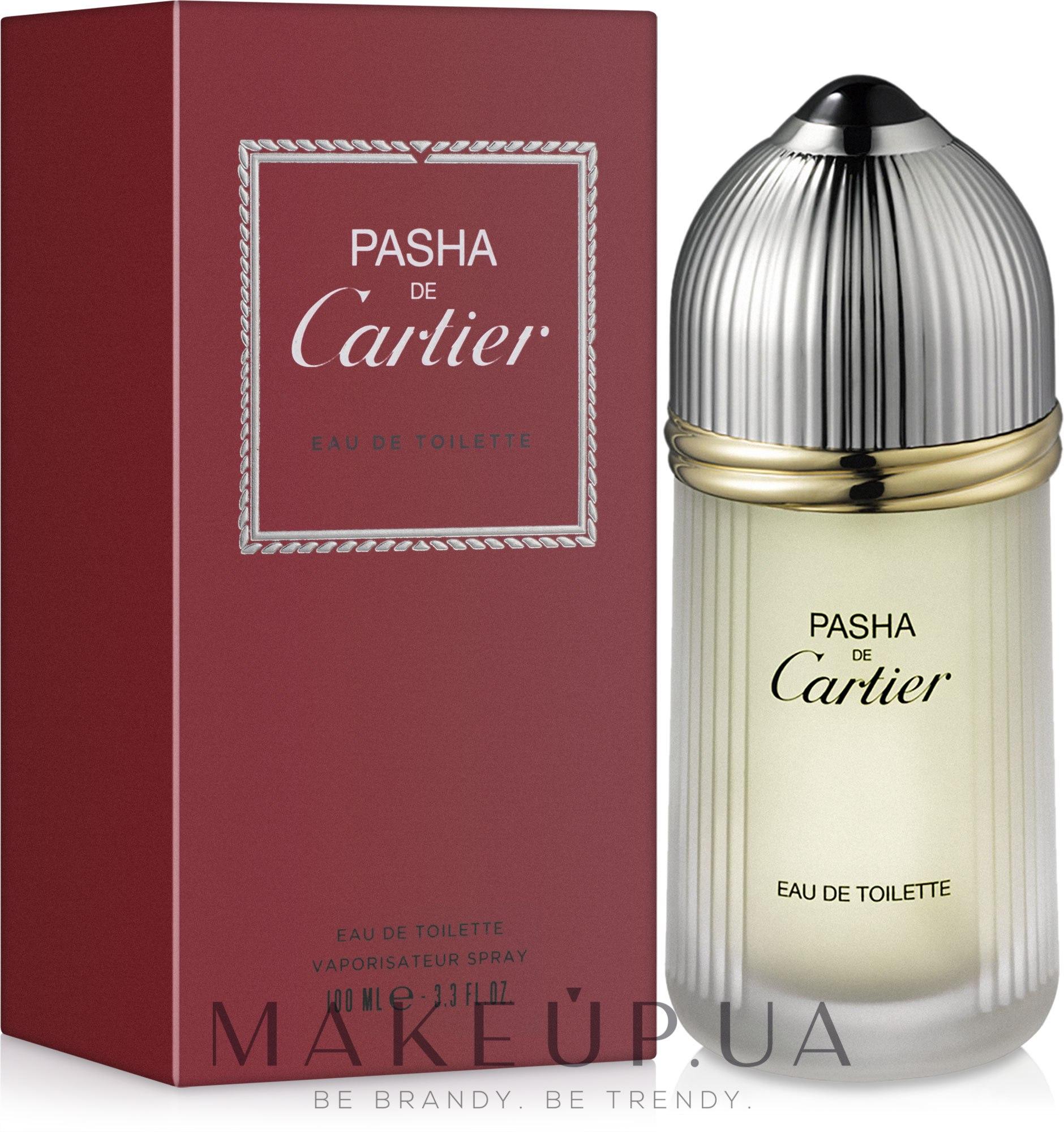 Cartier Pasha de Cartier - Туалетная вода — фото 100ml