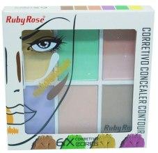 Парфумерія, косметика Ruby Rose Color Correcting Concealer - Консилер для обличчя