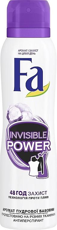 Дезодорант спрей - Fa Sport Deodorant Прозрачная защита