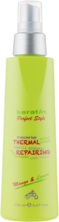 Защитный спрей для волос - BBcos Keratin Perfect Style Thermal Repairing
