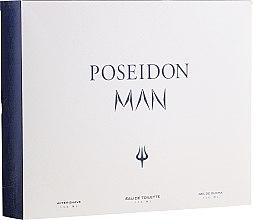 Парфумерія, косметика Instituto Espanol Poseidon - Набір (edt/150ml+ash/balm/150ml+sh/gel/150ml)