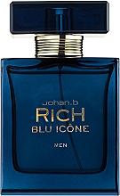 Духи, Парфюмерия, косметика Johan B. Rich Blu Icone - Туалетная вода (тестер с крышечкой)