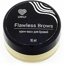 Духи, Парфюмерия, косметика Крем-воск для бровей - Lovely Flawless Brows