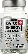 "Духи, Парфюмерия, косметика Капсулы ""Кальций + Витамин D3 + Витамин K2"" - Swiss Energy Calcivit"
