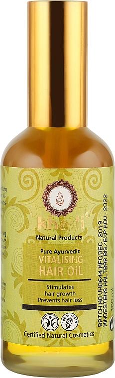 """Масло для волос """"Для жизненной силы и роста"""" - Khadi Hair Oil"""