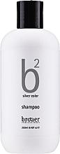 Духи, Парфюмерия, косметика Шампунь для светлых волос - Broaer B2 Silver Color Shampoo