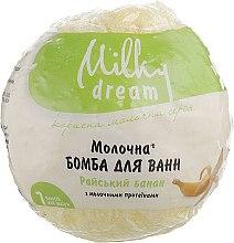 "Духи, Парфюмерия, косметика Бомба для ванн ""Райский банан"" с молочными протеинами - Milky Dream"