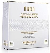 Духи, Парфюмерия, косметика Профессиональные растворимые отбеливающие полоски - WhiteWash Laboratories NANO Dissolving Teeth Whitening Strips