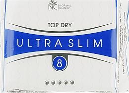 "Духи, Парфюмерия, косметика Прокладки ""Ultra Slim Top Dry"" 5 капель, 8 шт. - Normal Clinic"
