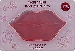 Духи, Парфюмерия, косметика Патч для губ - The Saem Secret Pure Rosy Lips Gel Patch