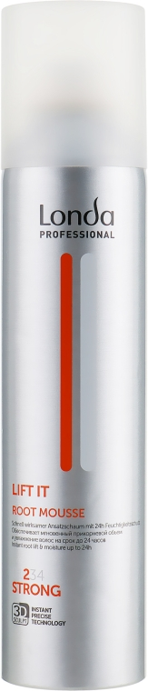 Мусс для создания прикорневого объема сильной фиксации - Londa Professional Lift It