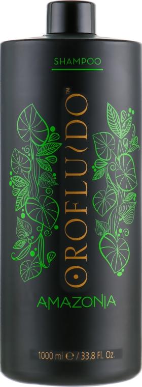 Шампунь для ослабленных и поврежденных волос - Orofluido Amazonia Shampoo