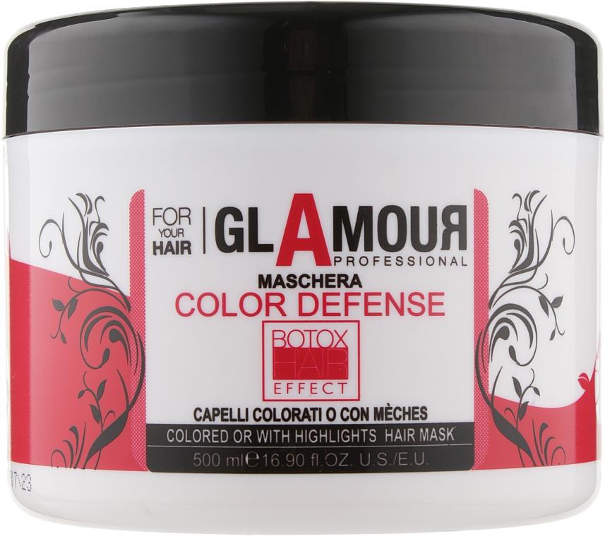Маска для окрашенных и мелированных волос - Erreelle Italia Glamour Professional Mask Color Defense