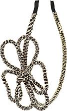 Духи, Парфюмерия, косметика Обруч-шнур для волос, черный бант - Элита