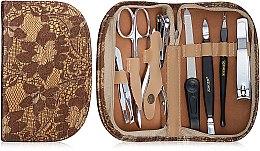 Духи, Парфюмерия, косметика Маникюрный набор MS-22907-1-S, золотой - Zinger