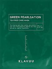 Духи, Парфюмерия, косметика Расслабляющая маска для лица - Klavuu Green Pearlsation Tea Tree Care Mask
