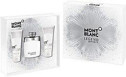 Духи, Парфюмерия, косметика Montblanc Legend Spirit - Набор (edt/100ml + sh/gel/100ml + asb/100ml)